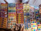 LOT Vintage 90s + Mello Smello Trend + Scratch n Sniff Stinky Stickers RARE