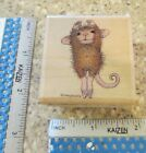 MAXWELL DANCING MW RUBBER STAMP STAMPABILITIES HOUSE MOUSE