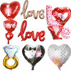 I Love You Heart Diamond Ring Foil Balloon Anniversary Wedding Valentines Party