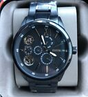 Fossil Flynn Mechanical Twist Multifunction Stainless Men's Watch BQ2220 NWT