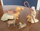 Willow Tree Nativity SHEPHERD AND STABLE ANIMALS 2002 26105