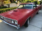 1969 Ford Ranchero GT 1969 Ford Ranchero GT Very Rare Bucket Seat Candy Apple Red California Car