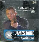 James Bond Mission Logs Factory Sealed Trading Card Hobby Box