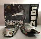 Dale Earnhardt 2001 GM Goodwrench Plus Action Crew Cab Car  Show Trailer 124