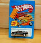 Hot Wheels 1982 Ford Escort Black Unpunched Card VHTF In Blister
