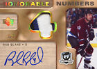 2005-06 The Cup Honorable Numbers Rob Blake Patch Autograph Auto # 3 4 VERY Rare