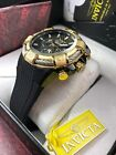Genuine INVICTA Men's BOLT WATCH Stainless Steel Black/Gold New 25687