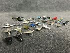 Lot of 31 Miniature Galoob Micro Machines Military Aircraft Plane Jet Helicopter