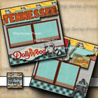 TENNESSEE vacation travel premade scrapbook pages paper piecing digiscrap A0009