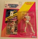 1992 Chris Mullin Golden State Warriors   STARTING LINEUP SLU Kenner with Poster