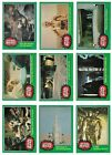 1977 TOPPS STAR WARS 4 COMPLETE SET NM W STICKERS WRAPPER & CP30 OBSCENE CARD
