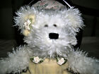 NWT❤BOYD COLLECTIONS❤PERFECT DISPLAY ❤IVORY STUFFED BEAR❤YELLOW VELVET Outfit ❤