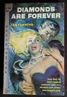 PERMA M3084 IAN FLEMING JAMES BOND 007 DIAMONDS ARE FOREVER GVG 1ST ROSE COVER