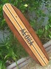 SURFBOARD WALL ART Hawaiian surf beach hibiscus decor longboard tiki sun