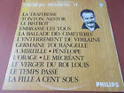 GEORGES BRASSENS VI 6 VINYL LP MADE IN ENGLAND PHILIPS LABEL 844755 BY