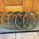 """ Cart Industrial Wagon Star Six Spoke"