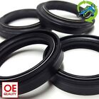 New AJS Regal Raptor DD 250 E 2004 to 2009 Fork Oil Dust Seal Seals Set