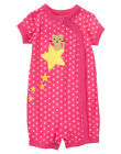 NWT Gymboree Kitty Cat Star Short One Piece Pajamas Sleeper 3 6 Months Baby Girl