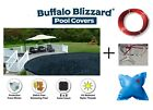 Buffalo Blizzard 18 x 33 Oval Above Ground Swimming Pool Winter Cover w Pillow