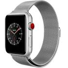 Apple Milanese Loop Watch Band - 42mm, Space Silver