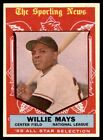 1959 TOPPS #563 WILLIE MAYS GIANTS ALL STAR NM-MT+ to MINT