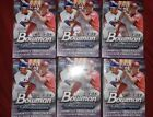 2018 BOWMAN PLATINUM FACTORY SEALED BLASTER BOXES! ONE LOT OF 6! NEW!!