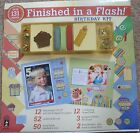 Hot Off The Press Finished In A Flash Scrapbooking Kit HOTP Birthday 131 pieces