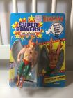 1984 Kenner DC Super Powers HAWKMAN MOC Mint on Card Unpunched 12 back
