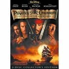 Pirates of the Caribbean The Curse of the Black Pearl DVD 2003 2 Disc NEW