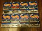 1998 Hot Wheels Treasure Hunt Series Lot of 8 Cars Collectors Limited Edition