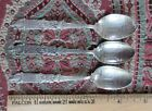 Twas the Night Before Christmas (3) Souvenir Spoons Santa, Chimney Holly 4 1/4