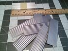 35 pieces of G scale aluminum corrugated roofing siding for buildings G6