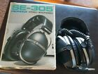Vintage Pioneer Stereo Headphones Model SE-305 In Original Box- see description