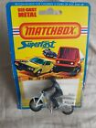 Matchbox Superfast No 33 Police Motorcycle 1975 on Card