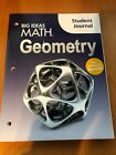 Big Ideas Math Geometry Student Journal  Larson Boswell Excellent 2015