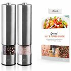 Battery Operated Salt and Pepper Grinder Set Pack of 2 by urban noon