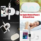 1 x Charging Pad 3 in 1 Wireless Charger for Apple iWatch iPhone X Anti-slid ABS