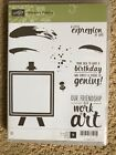 New Stampin Up Painters Palette stamp set