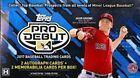 2017 TOPPS PRO DEBUT BASEBALL HOBBY BOX FACTORY SEALED 2 Auto 2 Relics GU