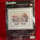 Bucilla Counted Cross Stitch Kit from 1996 Home Of My Heart 13X10