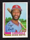 1982 Topps Traded #109T Ozzie Smith Cardinals Card - Nmt
