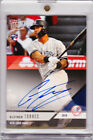 Gleyber Torres Rookie Autograph 2018 Topps Now Platinum All-Star Auto RARE RC