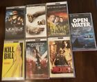Lot of 7 PSP Playststion Portable UMD Movie Video Discs Action Free Shipping