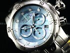 Invicta Reserve 52mm Venom Swiss Chrono Blue Cloud MOP Stainless SteelL 1K Diver