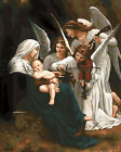 Angels Visiting Jesus Birth HP Design Needlepoint Canvas E386
