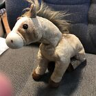 Ty Beanie Buddies Tan With Gold Speckles HOrse FILLY CUTE