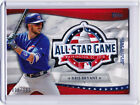 Kris Bryant Cubs 2018 All-Star Game Commemorative Patch Topps Fanfest 096 100