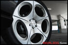 BLAQUE DIAMOND 24 BD77 SILVER CONCAVE WHEEL RIM FITS INFINITI Q56