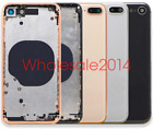 Back Rear Frame Motherboard Housing Back Battery Door For iPhone 8  8+ Plus US