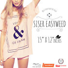 Siser Easyweed Iron on Heat Transfer Vinyl 12 x 15 Free Shipping